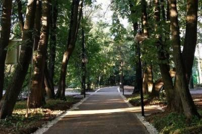 Парк в Липицах под Серпуховом благоустроят в этом году