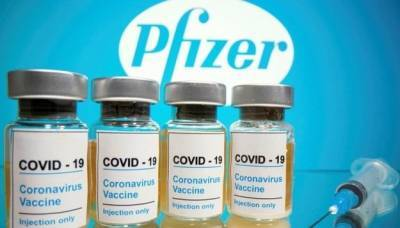 Минздрав анонсировал поставку первых 117 тысяч доз вакцины Pfizer на этой неделе