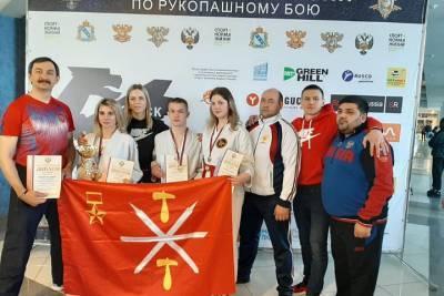 Туляки вошли в состав российской сборной по рукопашному бою