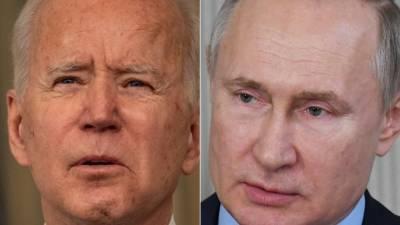Джо Байден провёл телефонный разговор с Владимиром Путиным