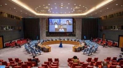 Совбез ООН прекратил трансляцию заседания после комментария России