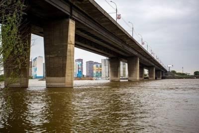 14-летняя девочка упала с Димитровского моста в Новосибирске