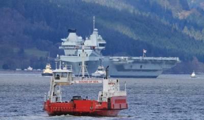 На британском авианосце Queen Elizabeth снова столкнулись с проблемами в системе пожаротушения