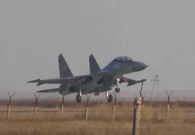 Многоцелевой истребитель Су-30СМ потерпел крушение в Казахстане