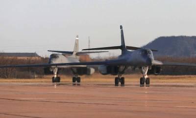 Один из развёрнутых в Норвегии B-1B Lancer ВВС США не смог покинуть страну из-за «повреждений»