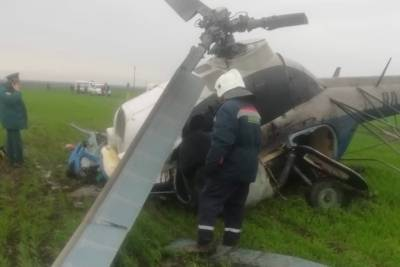 По факту гибели пилота Ми-2 на Кубани возбудили уголовное дело