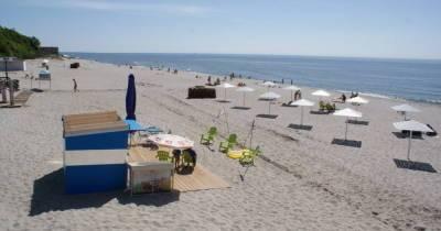 Два пляжа в Янтарном получили «Голубой флаг»
