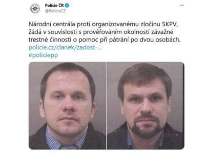 В Чехии заявили, что не объявляли в розыск «отравителей Скрипалей» Петрова и Боширова