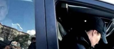 В Киеве задержали мужчину, который стрелял по дорожной бригаде