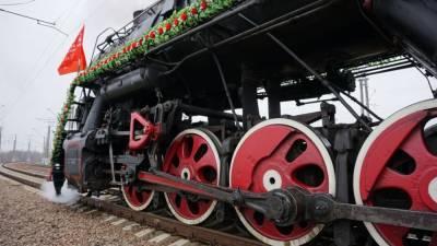 Ретропоезд «Воинский эшелон» прибудет в Астраханскую область 11 мая