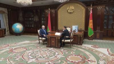 Президент принял с докладом премьер-министра