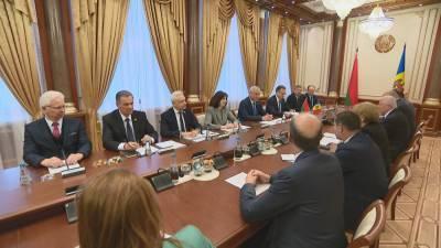 В Беларуси с визитом делегация Молдовы