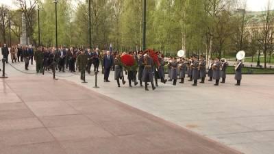 Венок от посольства Беларуси возложили в Москве