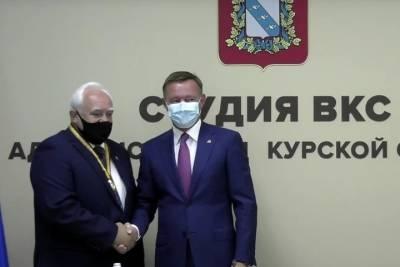 В Курской области первым обладателем «Ордена Почета» стал Николай Жеребилов