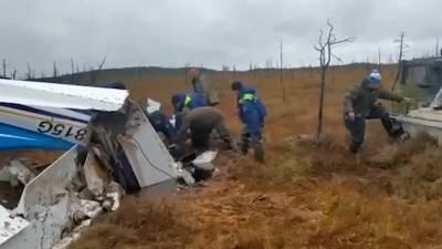 Тела двух погибших обнаружили на месте крушения гидросамолета в Югре