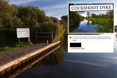 Facebook «заблокировал» популярную достопримечательность из-за пошлого названия