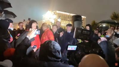 На задержанных за народный сход активистов КПРФ составили протоколы